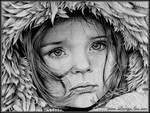 Little girl winter