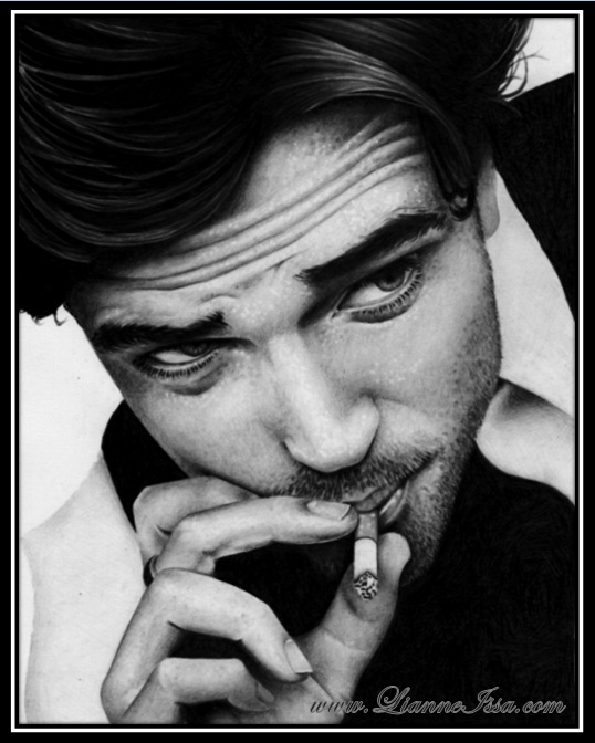 Robert Pattinson by Lianne-Issa
