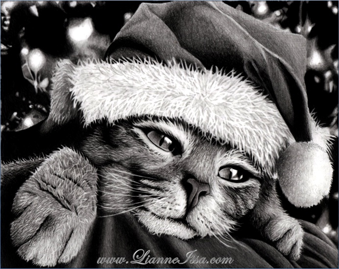 christmas_kitty_by_lianneamanda20-d4g9og