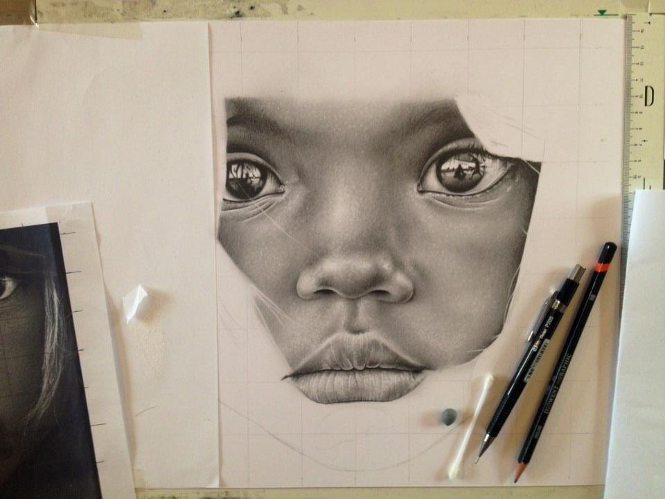 Little girl Africa - WIP 4 by Lianne-Issa
