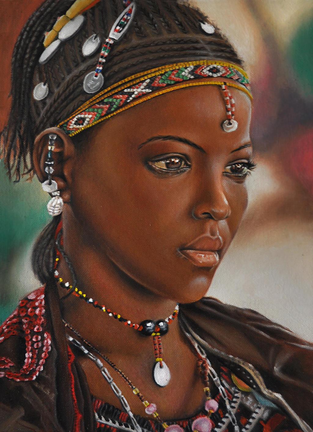 Fulani girl - Nigeria by Lianne-Issa