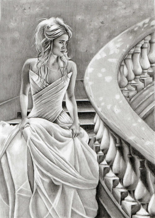 Castle ball by lianne issa on deviantart Grayscale coloring books for adults