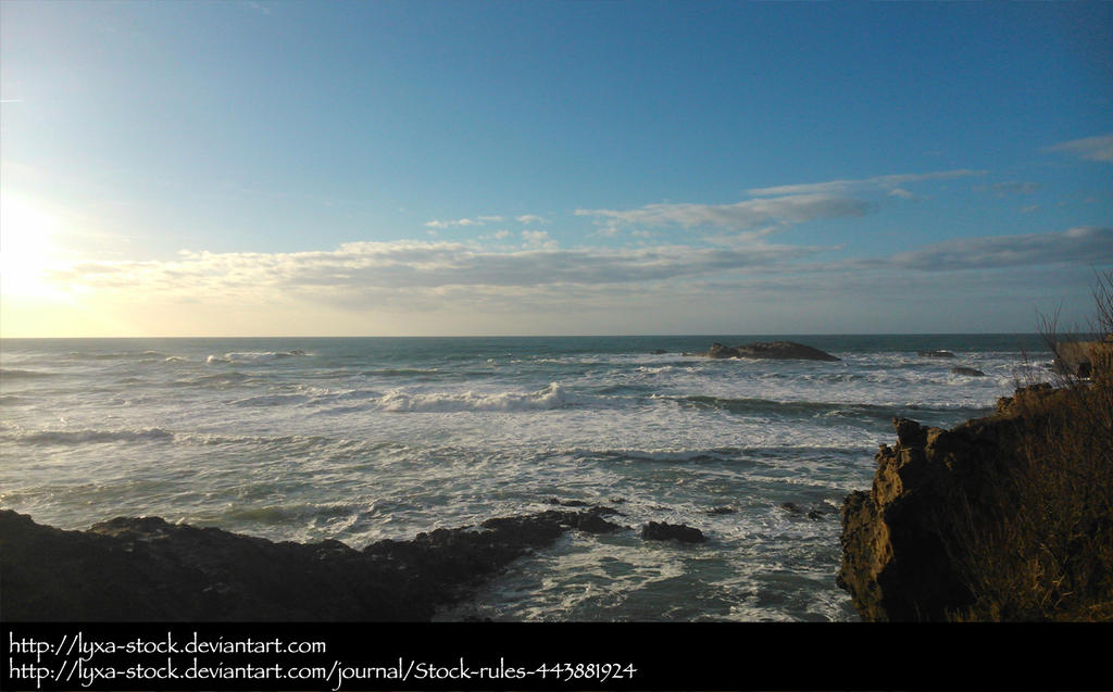 Biarritz 01 by Lyxa-Stock