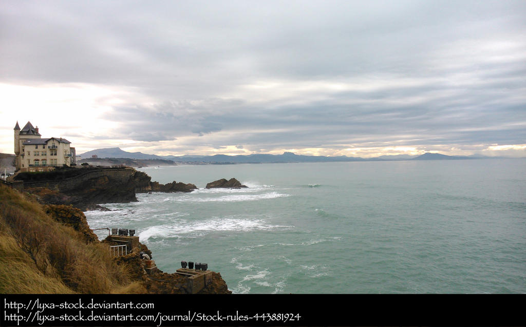Biarritz 02 by Lyxa-Stock
