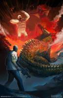 Rampage Movie Art by Markbizkit
