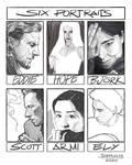 Six Portraits Challenge