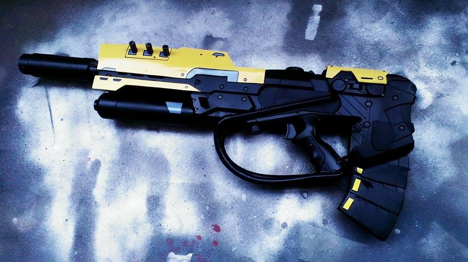 Strangers Rifle Nerf Mod by WhimsicalCaptnJ