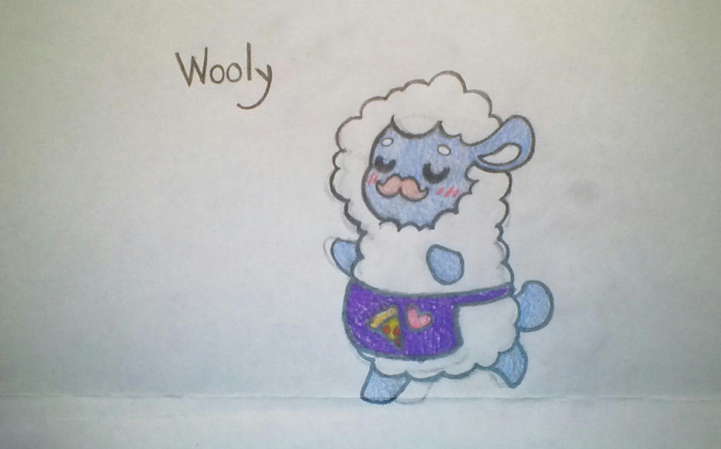 Wooly the waiter sheep (FNAF oc) by LobsterPolice on DeviantArt