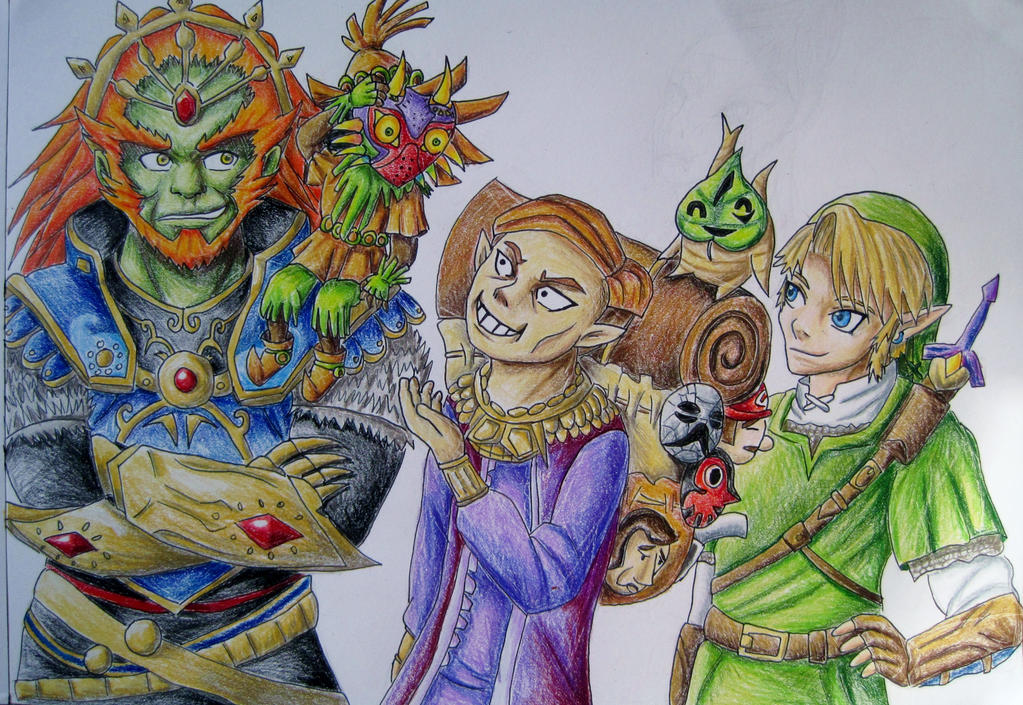 Top 5 Zelda Characters by anime-wolf-fan-girl