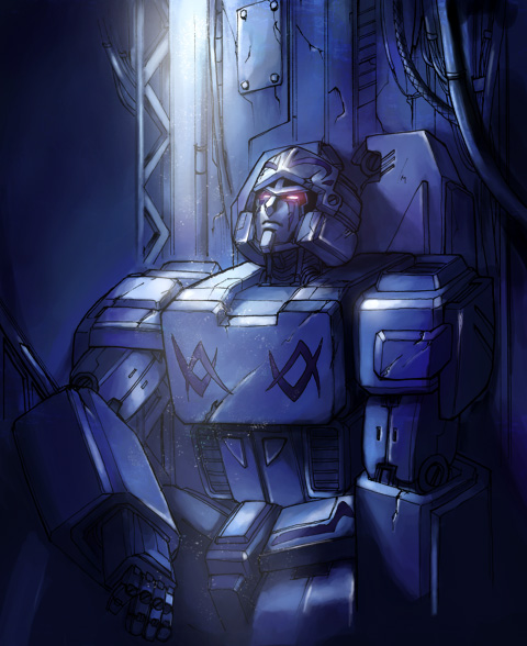 Megatron Origin by az28