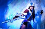 Cosplay. League of Legends - Snowstorm Sivir(4)