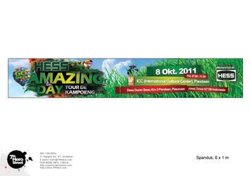 HESS Amazing Day Tour De Kampoeng Banner