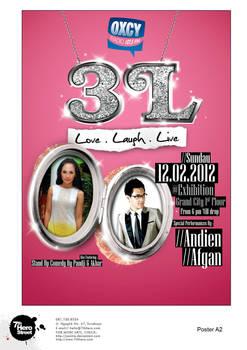 Poster Konser 3L