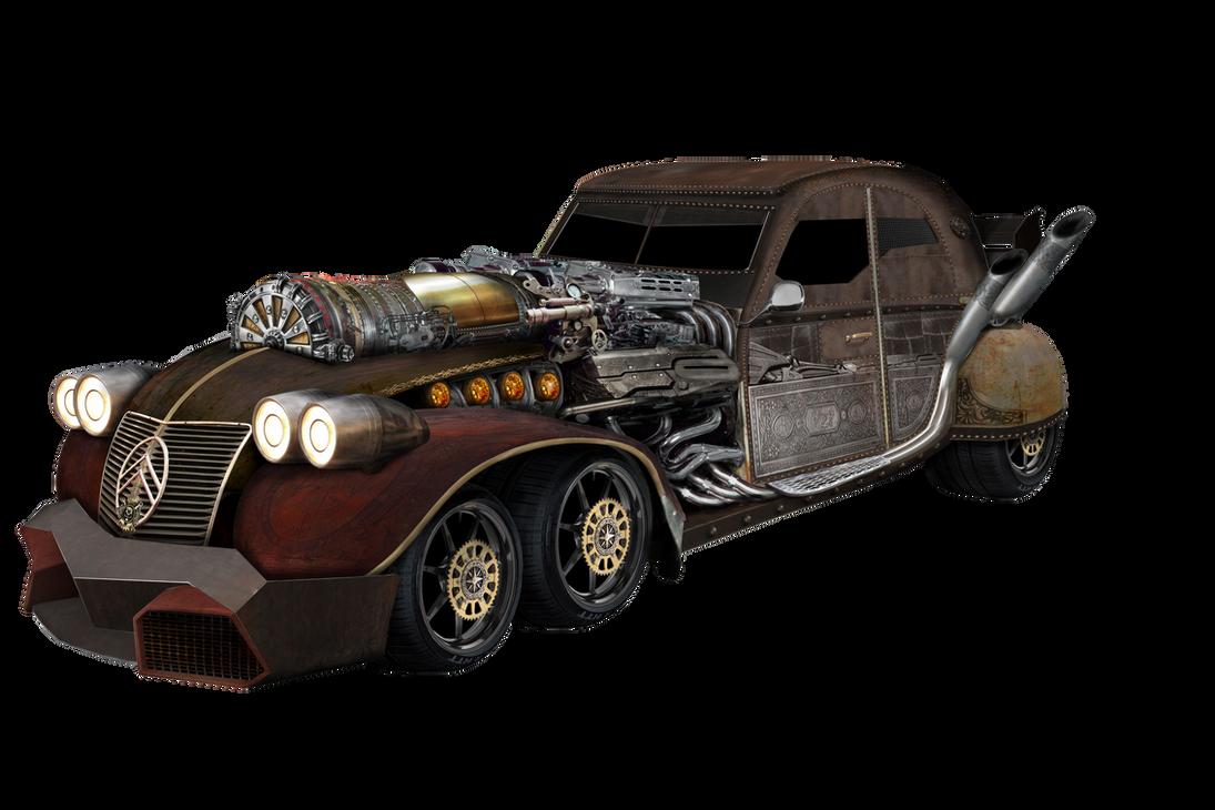 steampunk car car interior design. Black Bedroom Furniture Sets. Home Design Ideas