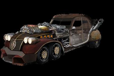 Car Steampunk 2