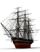 Bateau 02 USS Constitution by coolzero2a