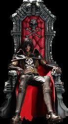 Harlock W Throne 01