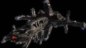 Cdf Nemesis Heavy Cruiser 3d