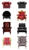 Arm chairs PNG