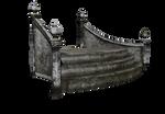 Daz3d fantasy castle Escalier 01