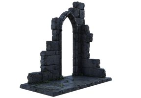 Ruines Goth 01 by coolzero2a