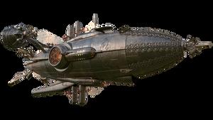 Steampunk Airship5