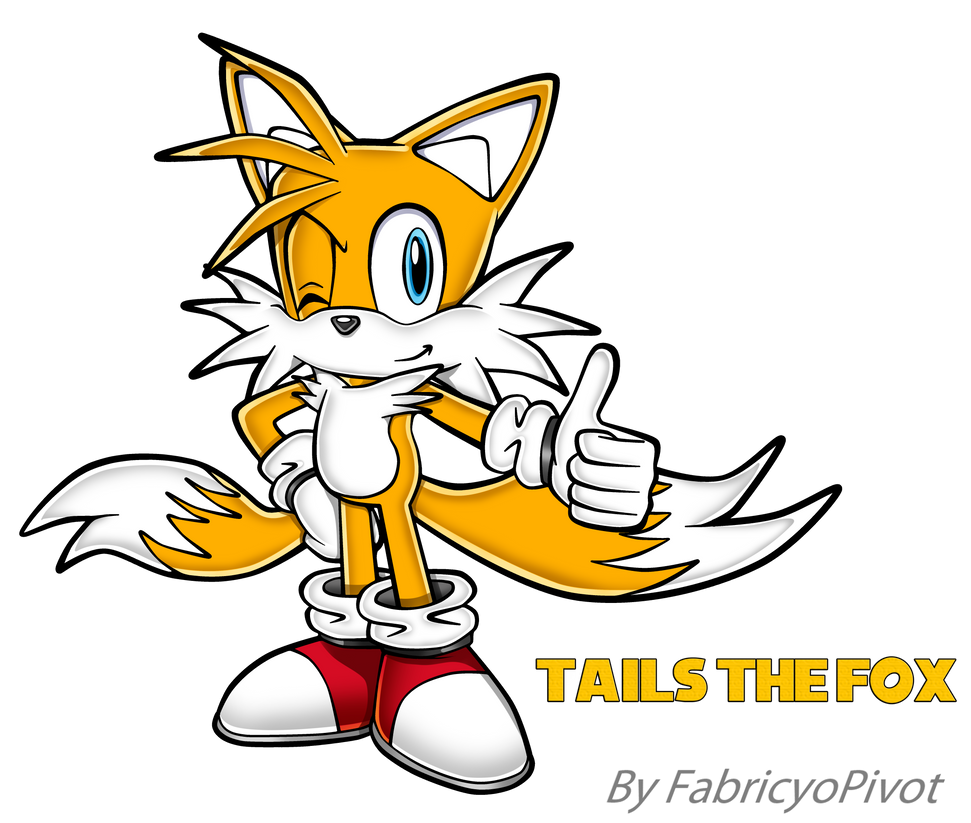 Tails Sonic Adventure Style By FabricyoPivot. By