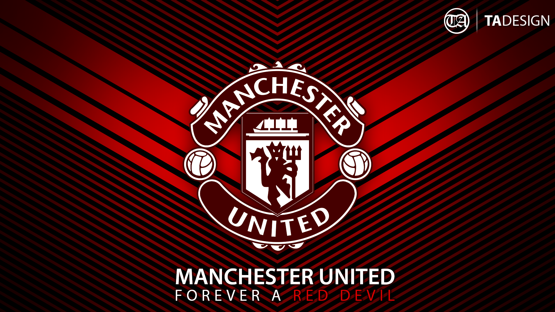 4 Man Utd Wallpaper Forever A Red Devil By Tauseen On Deviantart