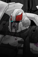 Beat up Prowl by VolverseLoco