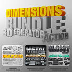 Bundle - Dimensions - 3D Generator Action