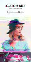 Glitch Art Photoshop Action by Lyova12