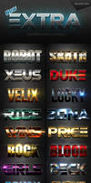 New Extra Light Text Effects Bundle One