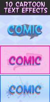 Cartoon Text Effects 4 by Lyova12