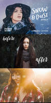Snow  Dust Effect Photoshop by Lyova12