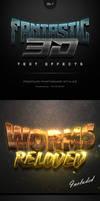 Fantastic 3D Text Effects Vol.7