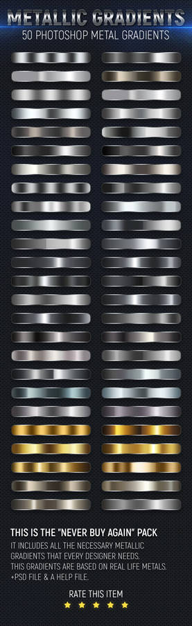 50 Metal Gradients