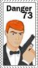 Danger stamp by takara13