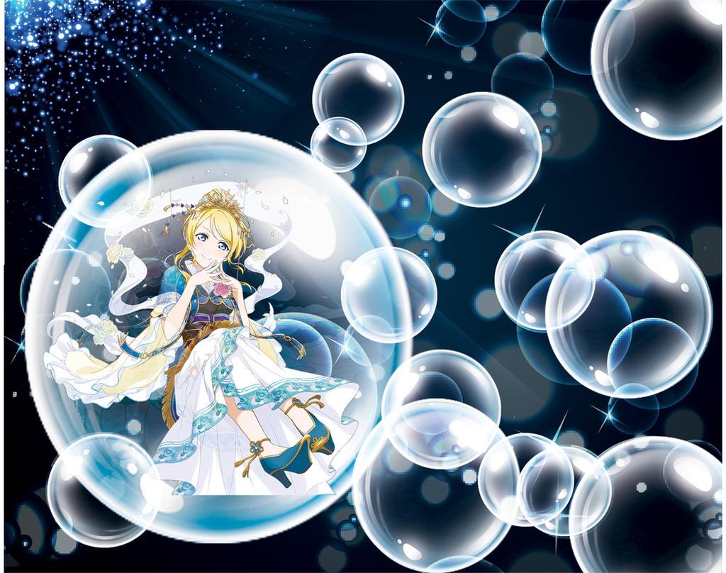 Midnight bubble Ayase Eli by sunnyDg