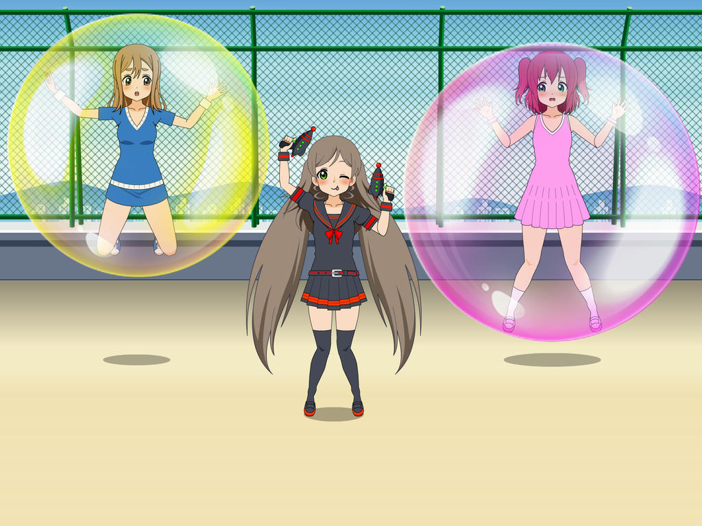 Bubble trouble Gun by sunnyDg