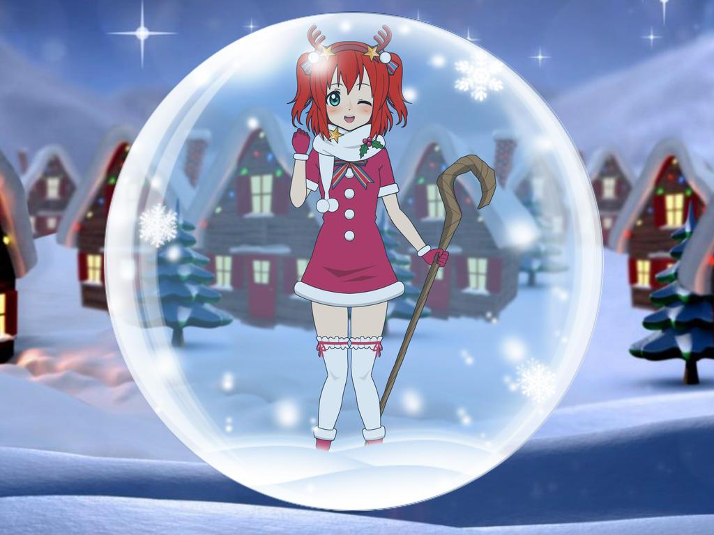 Marry Christmas, Ruby by sunnyDg