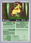 KDTTCG - Krypto Phone Card by RacieB