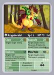 KDTTCG - Kryptoraid Evo Card by RacieB