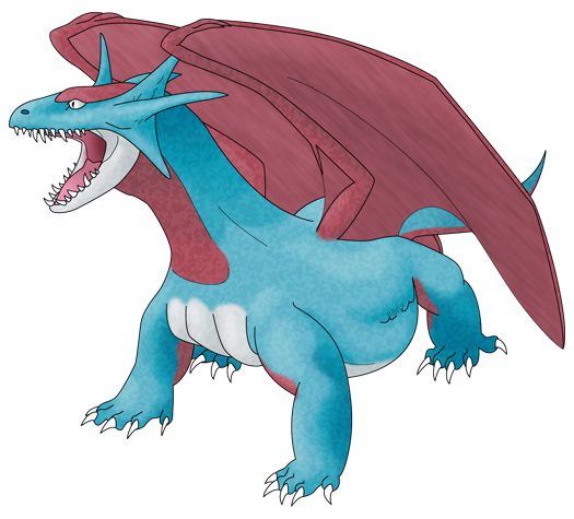 The gallery for --> Dragonite Vs Salamence