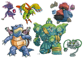 Sk Com - Chimental's Team 2 by RacieB
