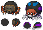 Squishable Spider Concepts