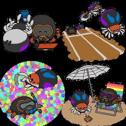 Spider Activities by RacieB