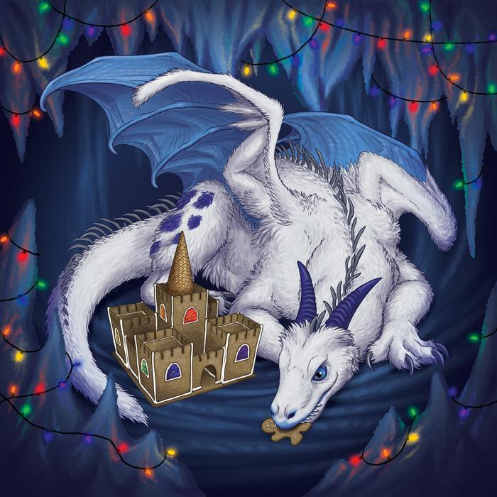 Ice Dragon by RacieB