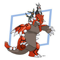 Groudon is Awesome by RacieB