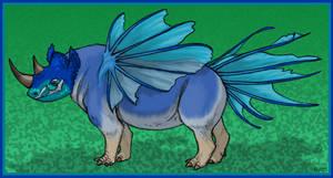 Dream rhino thing