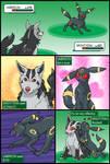 Mightyena vs Umbreon by RacieB